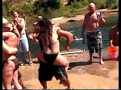 GIRL GETTING POUNDED  AT THE  SACRAMENTO RIVER