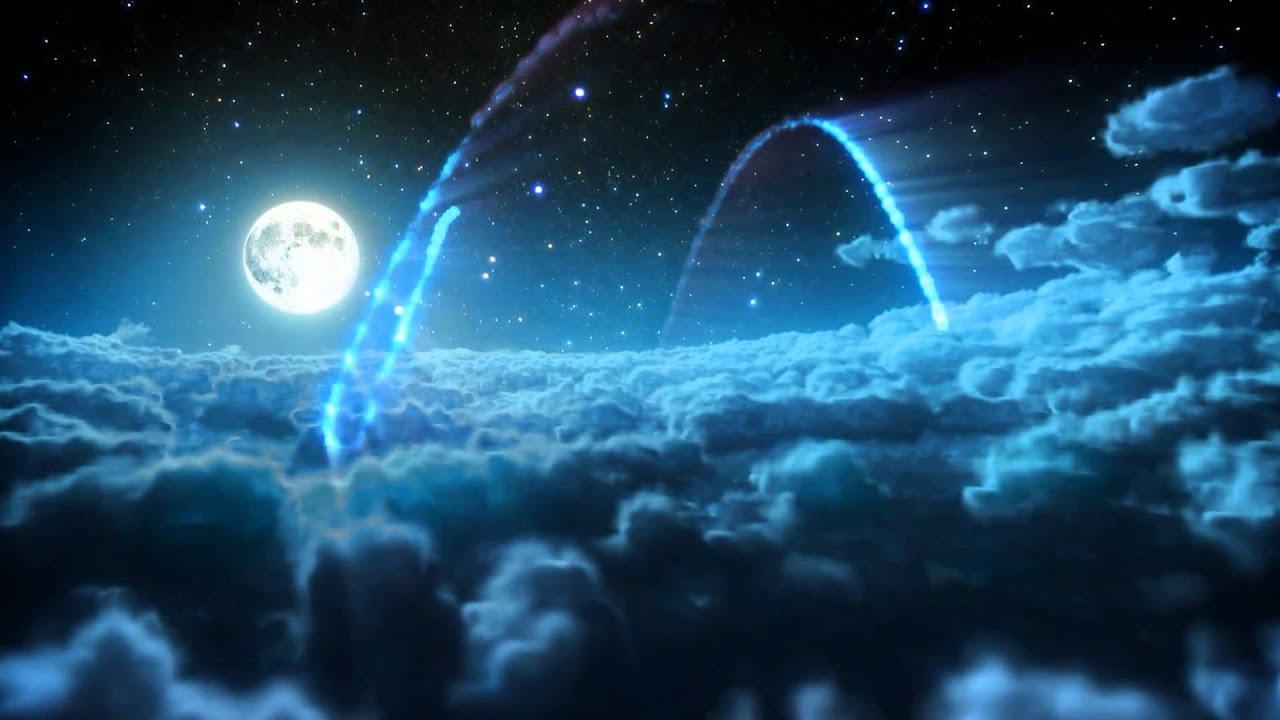 Starry Night Logo Intro 3d High Definition 1080p 720p Night Sky