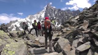 Hiking Plan de l'aiguille Chamonix Mont Blanc