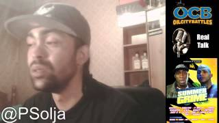OCB REAL TALK with P Solja