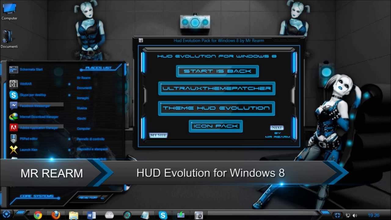 HUD Evolution for Windows 8