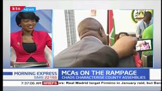 MCAs on rampage as chaos characterise county assemblies | Press Review