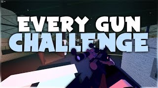 The EVERY GUN CHALLENGE in Phantom Forces