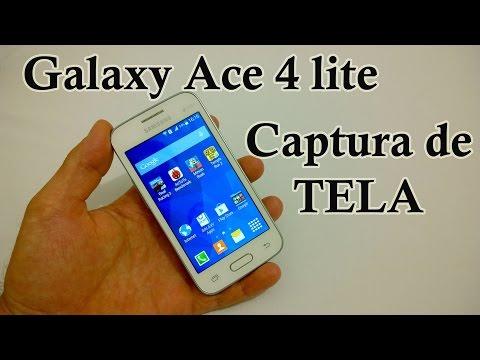 Samsung Galaxy Ace 4 lite - Como Tirar ScreenShot [Captura de Tela]