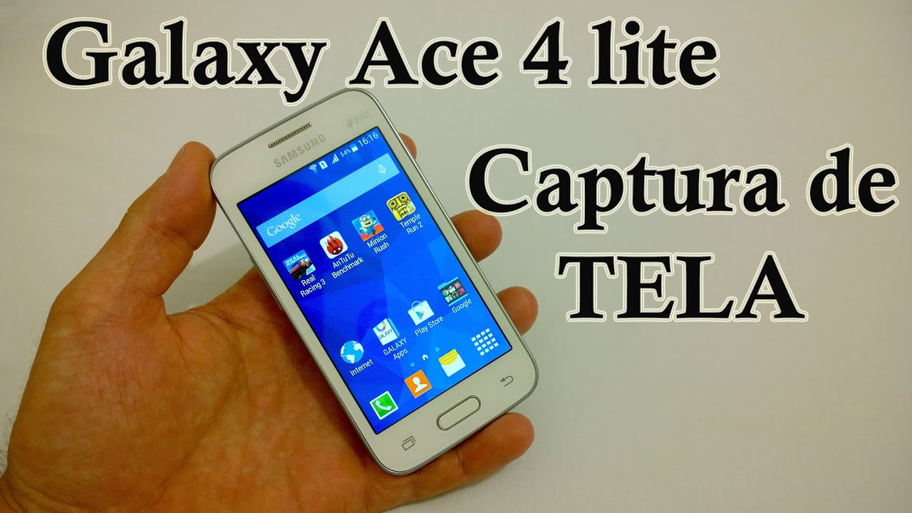 Samsung Galaxy Ace 4 lite - Como Tirar ScreenShot  Captura de Tela ... 679ba42086751