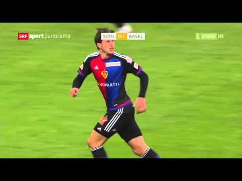2015/16: 12. Runde - FC Sion vs FC Basel 0:2 (0:1)