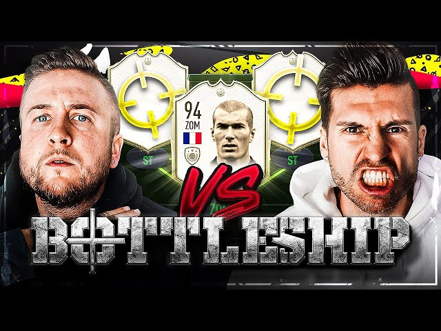 FIFA 20: ZIDANE 94 ICON Battleship Wager GEGENEINANDER 😳😱 WELTPREMIERE Timo VS Simon !!