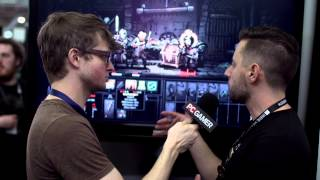 Darkest Dungeon gameplay and interview - PAX 2014