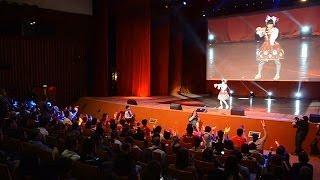 ロシア最大の日本ポップカルチャーの祭典「J-FEST」で歌を披露す...