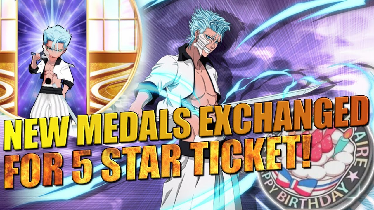 Bleach Brave Souls NEW MEDALS EXCHANGED FOR 5 STAR TICKET! NEW SUB STORY  AND EVENT