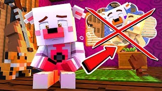 Minecraft Fnaf Daycare: Funtime Foxy jr loses all her memories?!