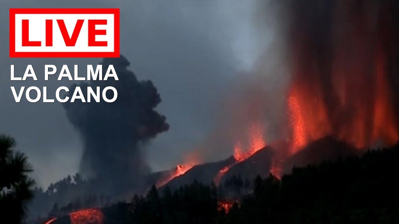 Download 🌎 LIVE: La Palma Volcano Eruption on the Canary Islands
