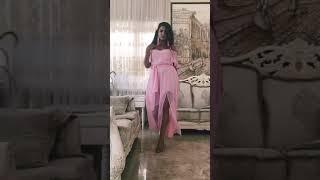 G 3181 Платье легкое из жатого шифона video