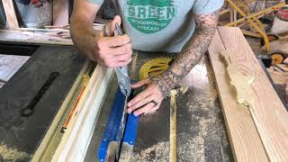 How to Make Rough Sawn Texture on New wood. DIY