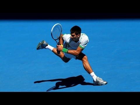Djokovic Focusing On His Hat Trick, Monaco & Hewitt Unable to Advance - Australian Open Day 1