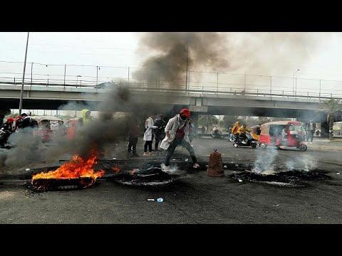 العراقيون يتظاهرون من جديد ضد الحكومة من أجل تنفيذ الاصلاحات…  - 22:59-2020 / 1 / 19