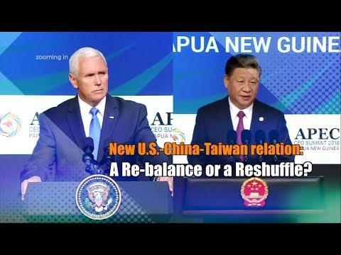New U.S.-China-Taiwan Relations: