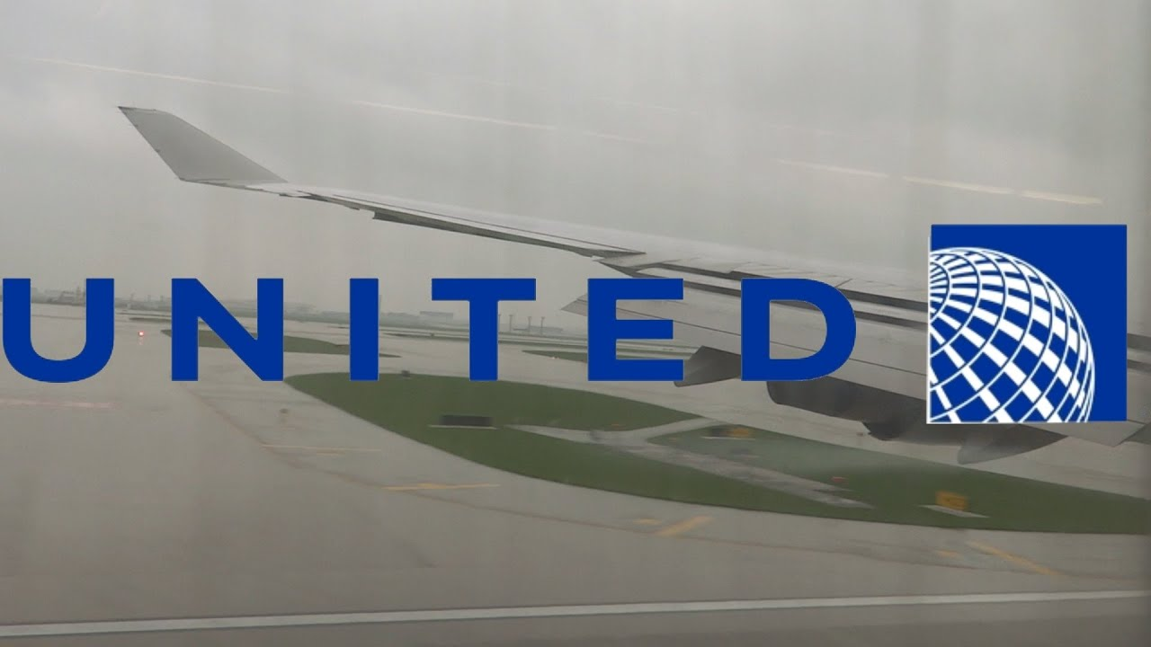 Download HD United Airlines Boeing 747-422 N182UA Landing at Chicago O'Hare International Airport