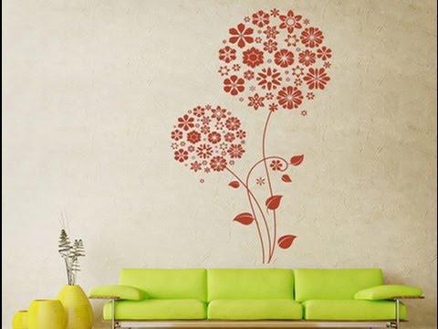 Нанесение рисунки на стены