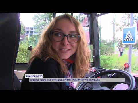 Transports : un bus 100% électrique entre Vélizy et Versailles