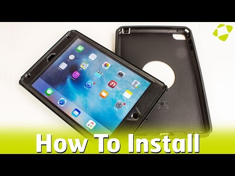 How To Install Otterbox Defender Case On The Ipad Mini