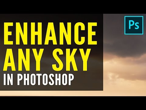 High Pass Filter Photoshop Tutorial: How To Enhance ANY SKY!