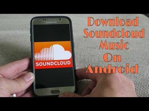 How to download music from soundcloud  android