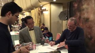Hollywood Collectors Convention 2 - 5/2013 - Meeting Robert Englund