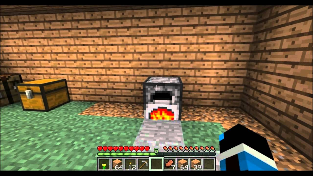 Minecraft Tutorial Part 2: How to Make Glass windows ...