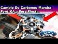 Cambio de Carbones Marcha Ford KA Ford Fiesta (Reparar motor arranque)