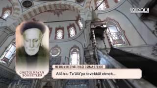 medineli hacı osman efendi tevekkul lâlegül tv
