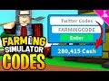 32 ROBLOX FARMING SIMULATOR MONEY CODES! [INSTANT BEST TOOL]