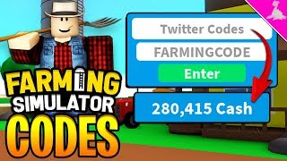 32 ROBLOX FARMING SIMULATOR MONEY CODES! [INSTANT BEST TOOL]