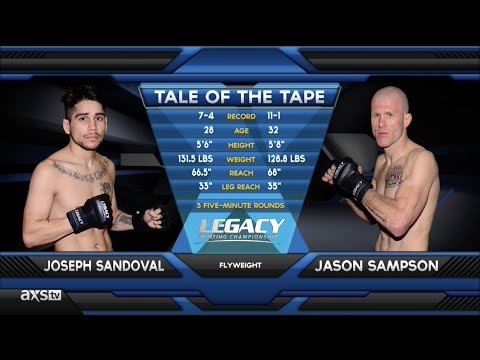 "Fight of the Week: ""Wild Thing"" Jason Sampson Goes Wild at Legacy 38"