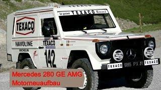 Mercedes Benz 280 GE SE AMG Motorneuaufbau Paris Dakar Winner 1983 Motorinstandsetzung