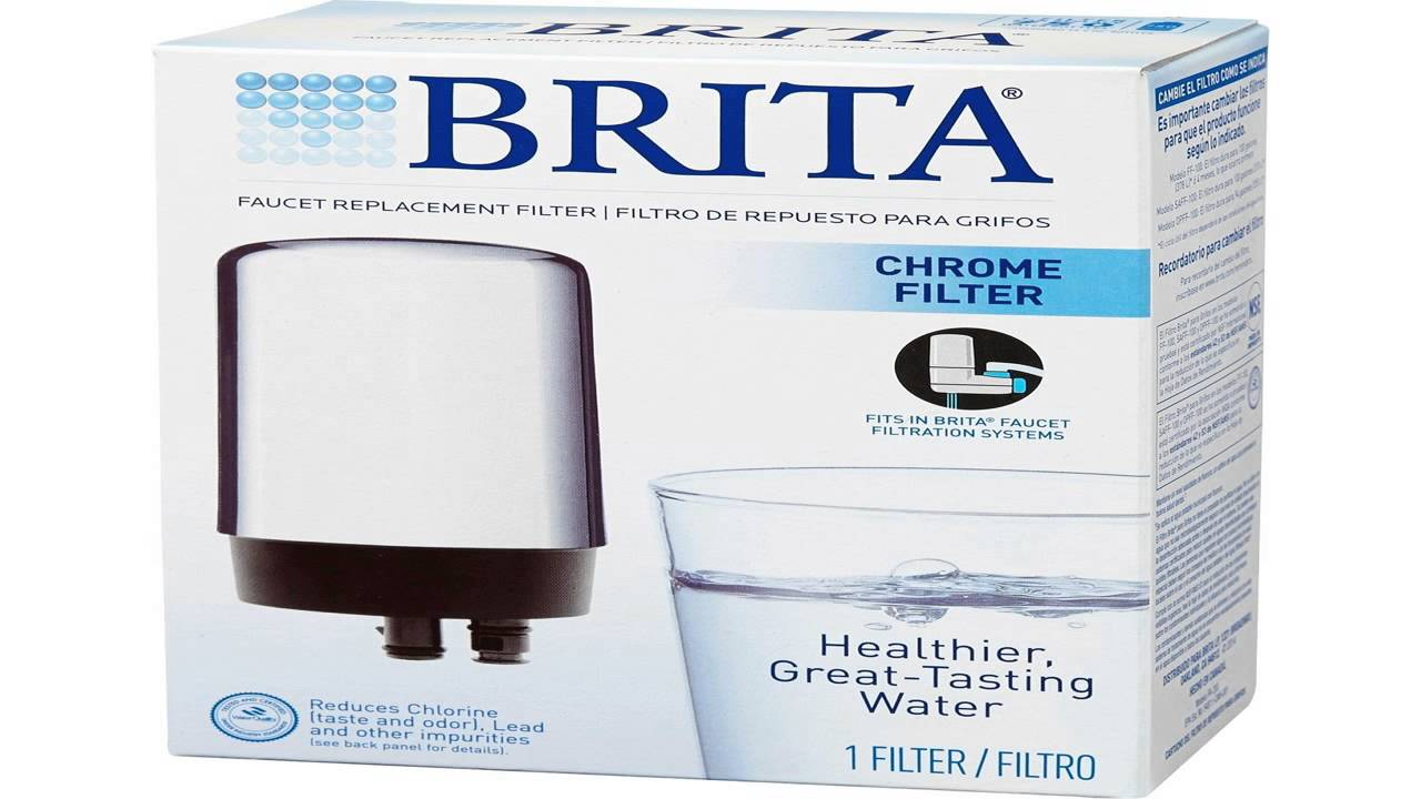 Brita On Tap Faucet Water Filter System Replacement Filters White ...