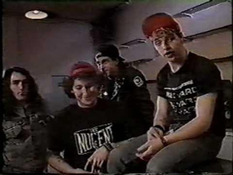D.R.I. - 1988 Paris France Backstage Interview -