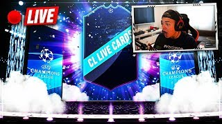 FIFA 19:  CHAMPIONS & EURO LEAGUE + NEUES TOTW PACK OPENING! (hallo ich streame)
