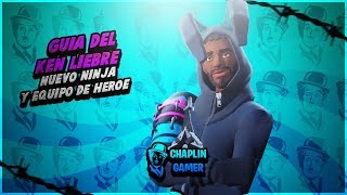"GUIA KEN LIEBRE VELOZ + ""KUNAI TORMENT HEROE TEAM"" / FORTNITE SAVE THE WORLD"