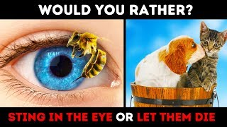 WOULD YOU RATHER? 15 RIDDLES AND CHOICES TO MAKE YOU SWEAT