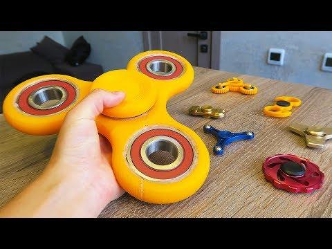 Я СДЕЛАЛ ОГРОМНЫЙ СПИННЕР НА 3D ПРИНТЕРЕ!! DIY BIG SPINNER ON 3D printer!