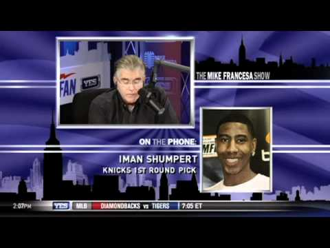 New York Knicks' Iman Shumpert