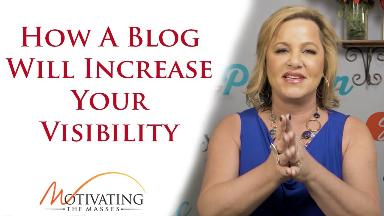 Susie Carder - How A Blog Will Increase Your Visibility