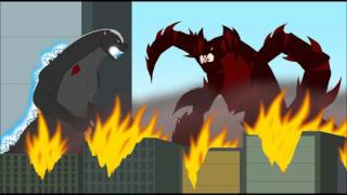 Tributo a The Bridge A Godzilla MLP Crossover Godzilla Island Theme