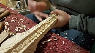 Ножки для столика, резьба по дереву, резьба по дереву для начинающих