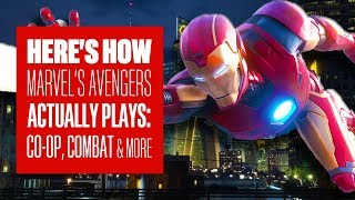 How Marvel's Avengers Plays: Combat, Co-op And More Explained - MARVEL'S AVENGERS GAMEPLAY