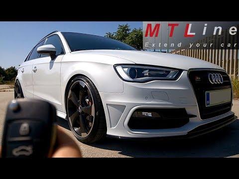 Audi A3, MY2014 - lock/unlock beep confirmation activation - zvočno  opozorilo ob zaklepu vozila
