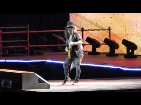 Guns N Roses Live at Munich 12 Coma+Slash Guitar solo+Speak softly Love+Sweet Child on mine