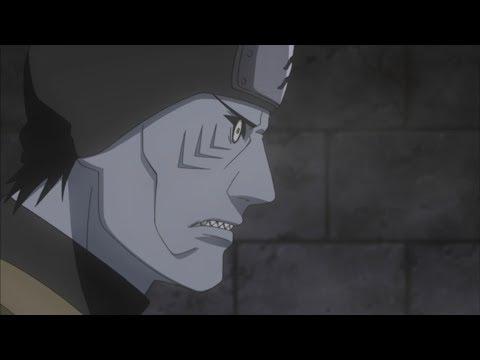 Мадара показывает свое лицо Кисаме