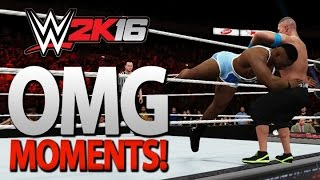 WWE 2K16: All OMG Moments Including Big E